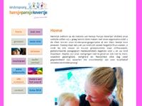 Website Hansje Pansje Kevertje